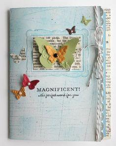Wow, beautiful.  Stampin up butterflies die cut / punch