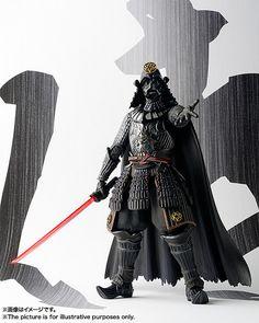 Meisho Movie Realization Star Wars Samurai troop Darth Vader Figures F//S