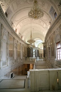 Neue Burg interior, Vienna