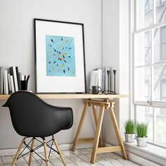 Items similar to Blue Abstract Watercolor Print. Blue Abstract Watercolor on Etsy Brazil Map, Scandinavian Poster, City Poster, Poster Wall, Home Interior, Interior Design, Nordic Interior, Honolulu Hawaii, Hawaii Beach