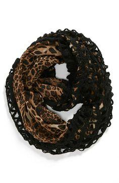 crochet and leopard print - yum!