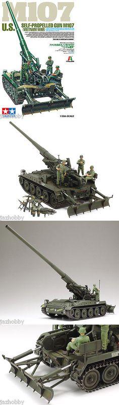 Land 2589: Tamiya 37021 1 35 Model Kit Us Army M107 175Mm Self-Propelled Gun Vietnam War -> BUY IT NOW ONLY: $32.9 on eBay!