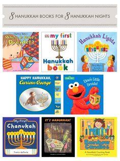 8 Hanukkah Books for 8 Nights