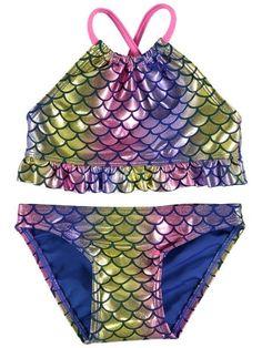 Toddler Girls Mermaid Bikini Swimsuits, Bikinis, Swimwear, Mermaid Bikini, Best And Less, Online Shopping Clothes, Christmas Presents, Toddler Girls, Kids Outfits