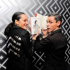 Isabel Toledo, Ruben Toledo [I'm going to have to figure out how to get my copy autographed... tg]