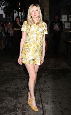 Kirsten Dunst in Stella McCartney - September 2012