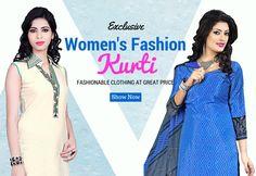 Women's Fashionable Kurti Collection Online Shopping On Smartdeals4u.com #Kurti #Fashion #Tunic #CelebrityStreetFight #Kurta #Embroidered #Kurtis  #Classy  BUY NOW :- Smartdeals4u.com Whats App :- 9953089027