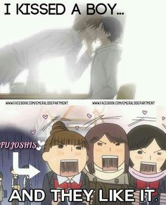 Yaoi love. Hahaha!!! Me and my fellow yaoi fangirls.