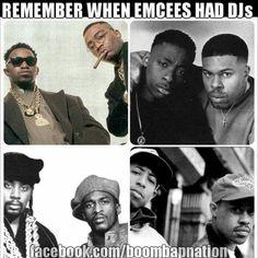 Authentic hip hop. Authentic rap. Those were the days...