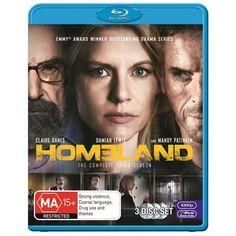 Homeland Season 3 - Blu-Ray (20th Century Fox Region B) Release Date: Available Now (J.B. Hi-Fi Australia)