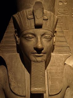 Horemheb was the last Pharaoh of the 18th Dynasty from either 1319 BC to late 1292 BC, or 1306 to late 1292 BC although he was not related to the preceding royal family and is believed to have been of common birth. Before he became pharaoh, Horemheb was the commander in chief of the army under the reigns of Tutankamun and Ay. Horemheb presumably remained childless since he appointed his vizier Paramesse as his successor, who would assume the throne as Ramesses I.