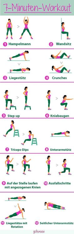 ein effektives workout muss nicht lange dauern wir zeigen euch das 7 minuten workout delivers online tools that help you to stay in control of your personal information and protect your online privacy. Fitness Workouts, Lower Ab Workouts, Sport Fitness, At Home Workouts, Health Fitness, Pilates Fitness, Fitness Plan, Mini Workouts, Motivation Sportive