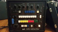 MATRIXSYNTH: Vintage MTI Auto Orchestra Drum Machine with Bass ...