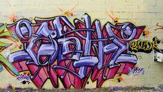 Wildstyle Graffiti - Colour inspiration.