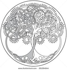 Image result for tree of life pattern