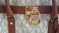c5928949440b NWT Michael Kors Hamilton E/W Satchel Handbag vanilla $105.0 Michael Kors  Bag, Michael