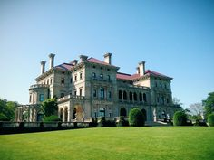 Mansions in Newport Rhode Island The breakers, the elms, the marble house etc.
