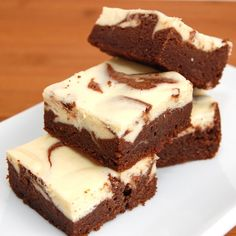 Irish Cream Cheesecake Brownies.....who needs a holiday excuse to make these?? NOT ME!