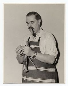 Citation: Louis Bouché, ca. 1950 / unidentified photographer. Forbes Watson papers, Archives of American Art, Smithsonian Institution.