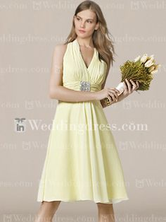 Dunno if i could manage halter-neck...  cheap bridesmaid dresses_Butter