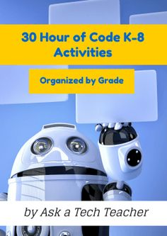 Here are ideas of apps and websites that teachers in my PLN used successfully in the past during Hour of Code: Kindergarten Start kindergartners with problem solving. If they love Legos, they& lo& Computer Class, Computer Coding, Computer Technology, Computer Programming, Computer Science, Digital Technology, Teaching Technology, Teaching Tools, Educational Technology