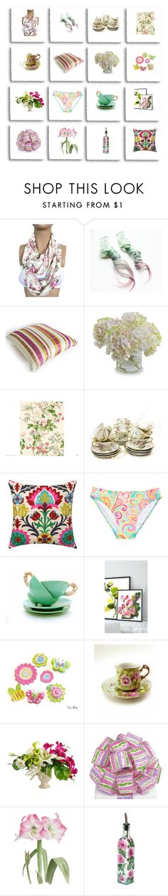 """""""selection no140"""" by lunashawls ❤ liked on Polyvore featuring Haviland"""