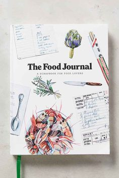 Booktopia has The Food Journal, A Scrapbook for Food Lovers by Magma. Buy a discounted Diary, Journal or Blank Book of The Food Journal online from Australia's leading online bookstore. Recipe Book Design, Cookbook Design, Cookbook Template, Little Presents, Food Journal, Recipe Journal, Journal Record, Life Journal, Journal Ideas