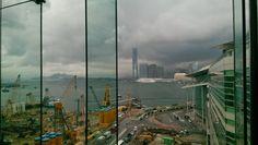 Desde el centro de convenciones en Wan Chai #ferias #exposiciones #comercio #hongkong