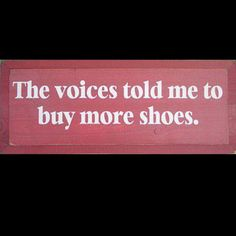 For all the shoe addicts out there. (: