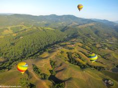 The Best Cities for Hot Air Ballooning: Napa Valley