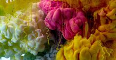 Kim Keever's photo series captures the randomness of pigment suspended in water.