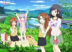 Non Non Biyori Repeat Bluray [BD]   480p 60MB   720p 90MB MKV  #NonNonBiyoriRepeat  #Soulreaperzone  #Anime