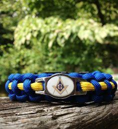 Freemason paracord bracelet