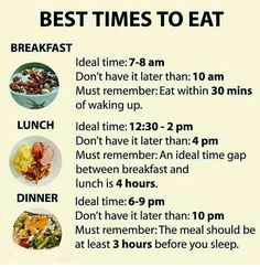 Why You Should Eat Breakfast and the Best Times for the other meals - Healthy Habits, Get Healthy, Healthy Tips, Healthy Choices, Healthy Recipes, Health Diet, Health And Nutrition, Health And Wellness, Health Fitness