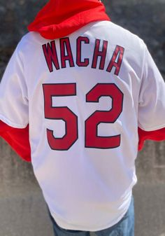 Michael Wacha St Louis Cardinals Mens Replica 2019 Home Jersey - White - 17251084 Stl Cardinals, St Louis Cardinals, Baseball Jerseys, Great Books, Team Logo, Perfect Fit, How To Look Better, Shirts, Men
