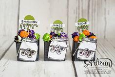 Crush On Colour: Jar of Haunts - Stampin' Up! Artisan Design Team blog hop