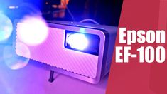 Epson EF-100W/B: Vyplatí se projektor namísto televize? | Recenze Epson, Samsung, Tech, Science, Electronics, Technology, Consumer Electronics