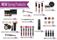 New products! Coming March 2017! YouniquelyBeautifulbyChelsey.com