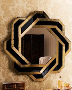 John-Richard Collection Mosaic Mirror Art deco inspired by Neiman Marcus – knot mirror – Mobilier de Salon Casa Art Deco, Arte Art Deco, Art Deco Spiegel, Spiegel Design, Designer Spiegel, Home Decor Shops, Retro Home Decor, Interiores Art Deco, Art Nouveau