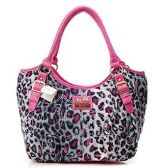 Omg i want this!! Leopard Coach Purse