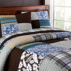 Perfect for Matt's queen upgrade!  He's had his current PBtwin quilt for several years!  #PBTEEN
