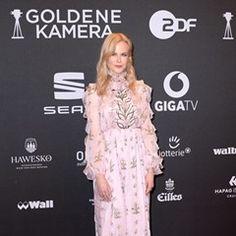 Celebrities arrive at 52nd Golden Camera film & TV awards 2017 in Hamburg