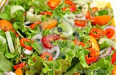 Raw, Spring Salad With Colorful Vegetables - Download From Over 28 Million High Quality Stock Photos, Images, Vectors. Sign up for FREE today. Image: 31125351