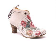 Chaussure GOLD_BUTTON 9621 BLANC