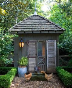 Judy's Cottage Garden: Garden Potting Sheds
