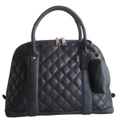 Women's Black Quilted Olivia Handbag Accessory Purse Fashion Shoes Clothes Gift  | eBay