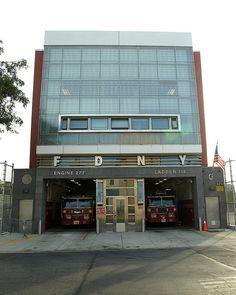 FDNY Firehouse Engine 277, Bushwick, Brooklyn, New York City | Shared by LION