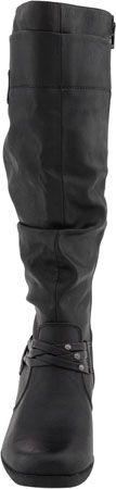 White Mountain Entrust Women's Knee High Boots (Black)