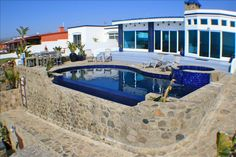 Exclusive Beachfront Home With Pool And Ba Vrbo Rosarito Beachheated