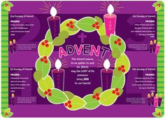 Advent Wreath Candles Meaning Catholic                                                                                                                                                                                 More